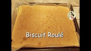 Recette biscuit roulé - génoise bûche  - HYPER MOELLEUSE ET FACILE