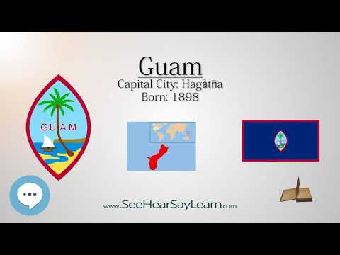 Guam   Unincorporated Territory of the United States  | EYNTK about The States & Territories ❤️🌎🔊