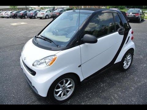 2009 smart fortwo passion coupe start up and full tour. Black Bedroom Furniture Sets. Home Design Ideas