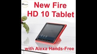 Fire HD 10 Tablet 32 GB with Alexa Hands Free Voice Commands Review amazon