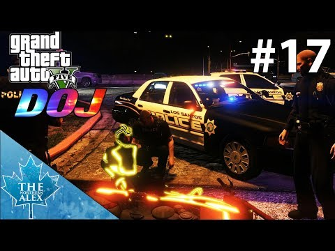 GTA V Department of Justice #17 -Motovlogger in trouble - (Criminal)