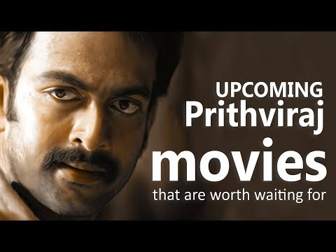 upcoming Prithviraj movies that are worth...