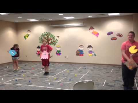 Live-Action Pac-Man at Highland Branch! - YouTube