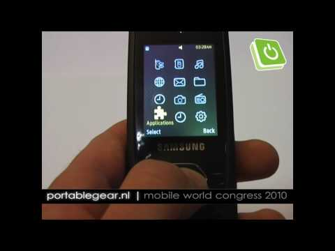 Samsung S3550 Shark 3 hands-on