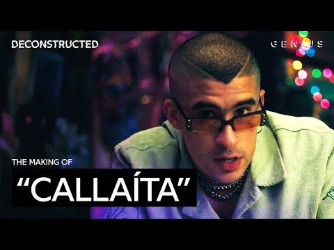 """The Making Of Bad Bunny & Tainy's """"Callaíta"""" With Tainy 
