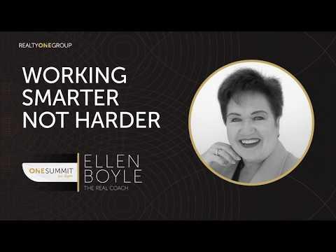 ONE Summit 2017 - Working Smarter, Not Harder
