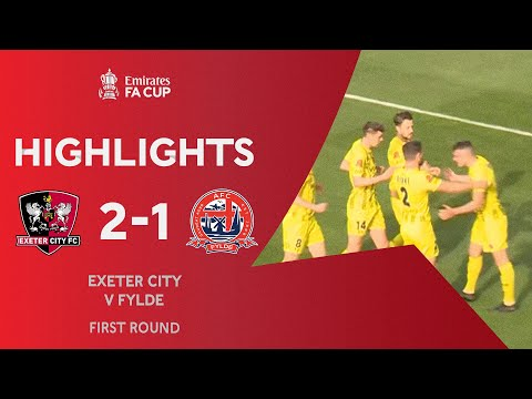 Exeter City Fylde Goals And Highlights