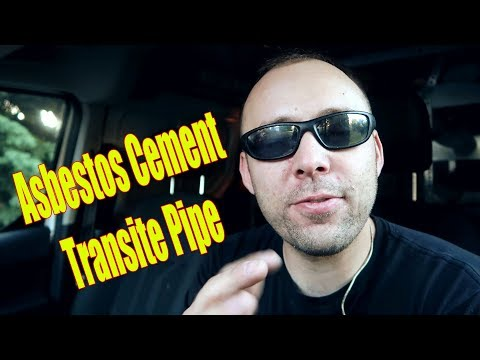 Day In The Life Of A Plumber | Transite Pipe, Absestos Cement Pipe Safety Hazard | Vlog 39