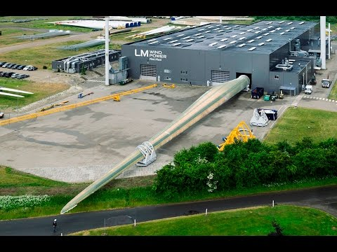 LM Wind Power 88.4 P: The world's longest wind turbine blade