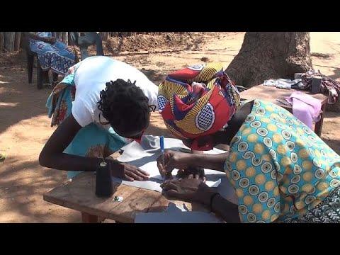 Mozambican girls fight menstrual taboos