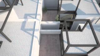 quadrangle Housing - Carl Pruscha - Architect