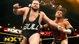 Bull Dempsey vs. Alex Riley: WWE NXT, January 27, 2016