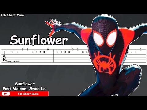 Sunflower - Post Malone, Swae Lee Guitar Tutorial