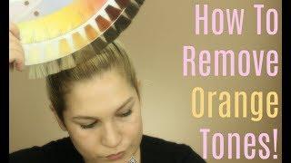 How to Remove/Neutralize Brassy Orange Hair   Blonde Hair Series