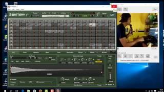 cara instal battery native instrument untuk sampling keyboard atau juga one man band