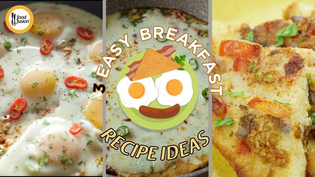 Easy Breakfast Recipe Ideas By Food Fusion - Youtube-5671