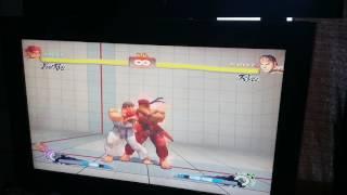 Evil Ryu Ultra combo