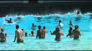 Цунами в Сиам парке(Искусственная волна в Сиам парке на Тенерифе высотой 3 метра., 2012-03-10T12:11:18.000Z)