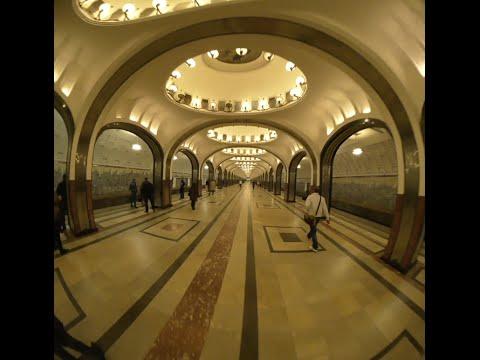 Moscow Metro 360 VR (mayakovskaya)