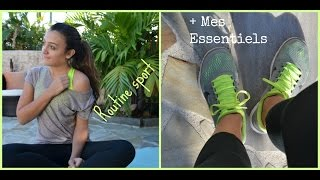 Ma routine sport + Mes essentiels :) Thumbnail