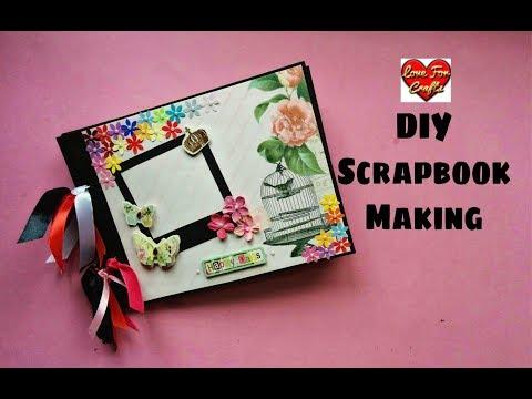 How to Make a Scrapbook | Scrapbook Tutorial | DIY Scrapbook Idea