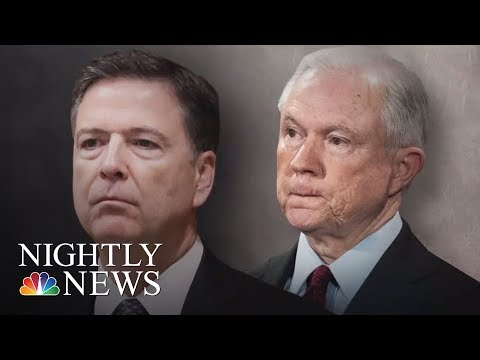 James Comey, Sessions Interviewed By Robert Mueller's Team In Russia Probe | NBC Nightly News