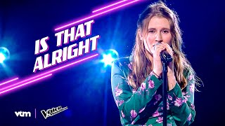 Nanou - 'Is That Alright' | The Knockouts | The Voice van Vlaanderen | VTM