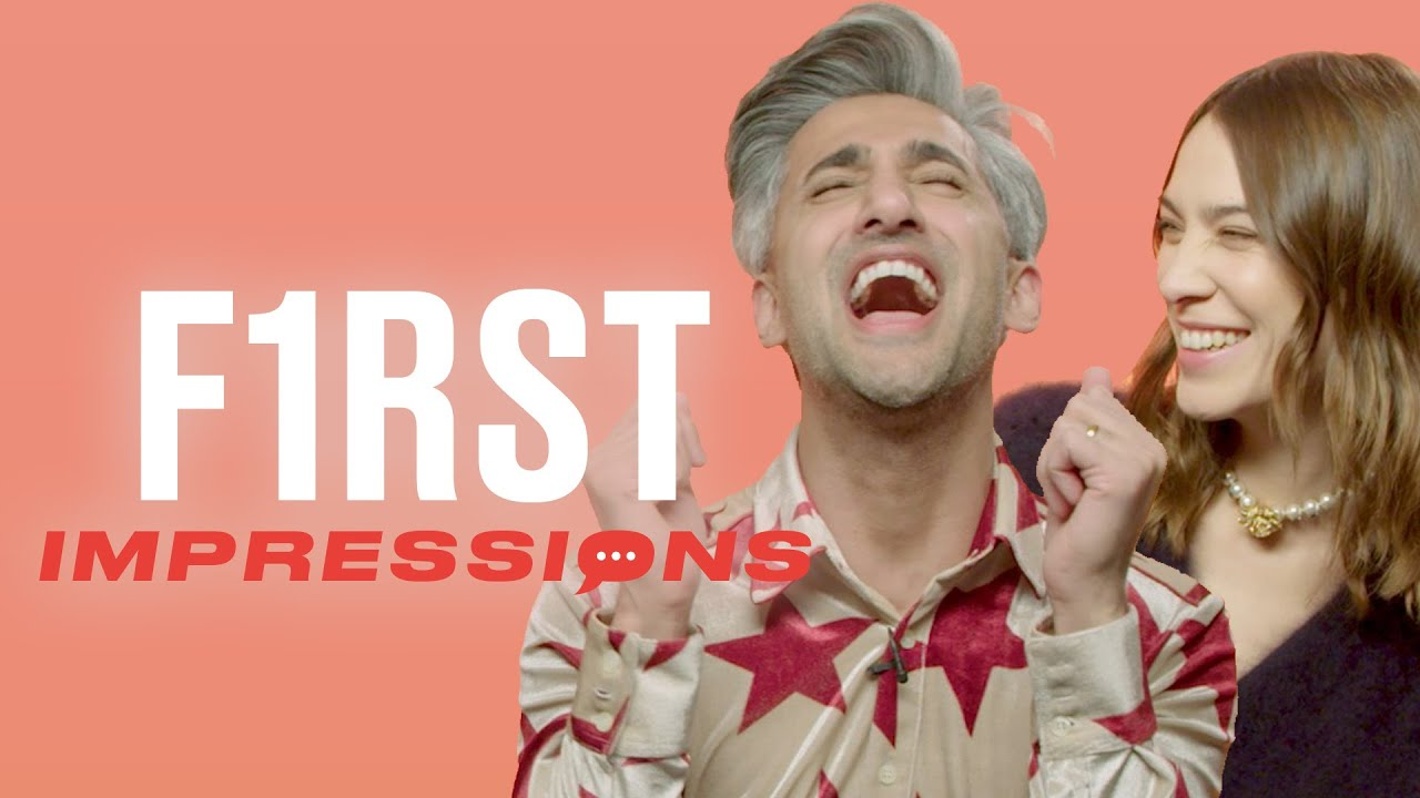 Tan France Impersonates Jonathan Van Ness | First Impressions | Tyla