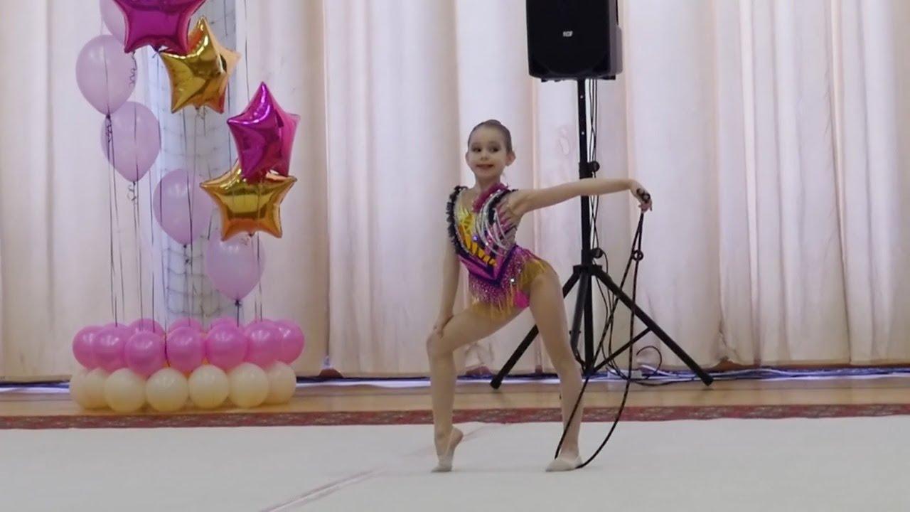 Неудачное выступление Дианы на турнире по художественной гимнастике