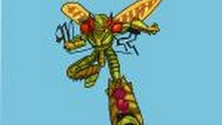 How to draw Bigmos from Beast Wars