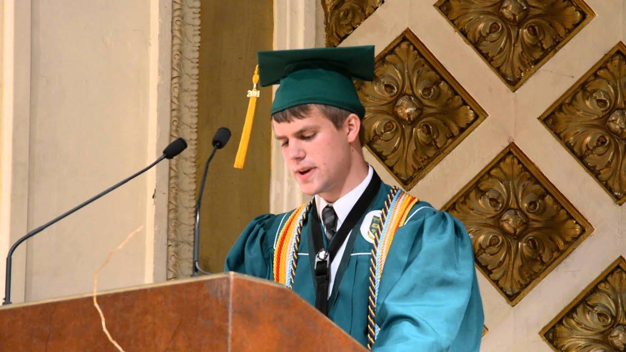 2014 mcnicholas graduation speech 2014 mcnicholas graduation speech