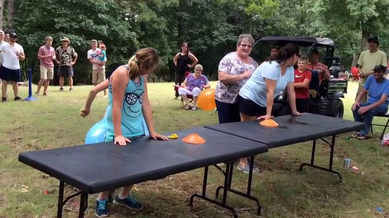 Family Reunion Vance 2016 Hysterical Balloon Game