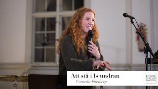 Att stå i beundran - predikan av Cornelia Forsberg