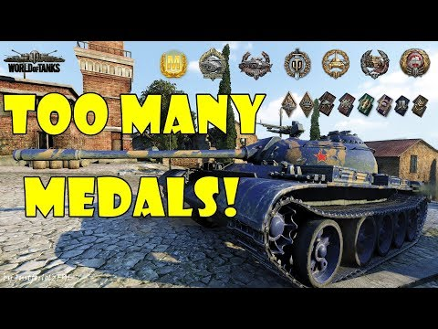 World of Tanks - PURE Gameplay [TYPE 59 | TOO MANY MEDALS! by t3rri] thumbnail