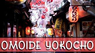a walk down Omoide Yokocho (Memory lane alley) in Shinjuku, Tokyo, Japan
