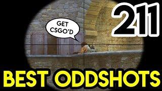 """CS:GO - """"UNLUCKY"""" - BEST ODDSHOTS #211 (+GIVEAWAY)"""