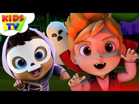 It's Halloween Night   Nursery Rhyme   Scary Rhymes By Boom Buddies