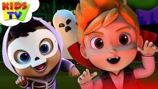 Es la Noche de Halloween | canción infantil | Miedo Rimas Por el Auge de Amigos