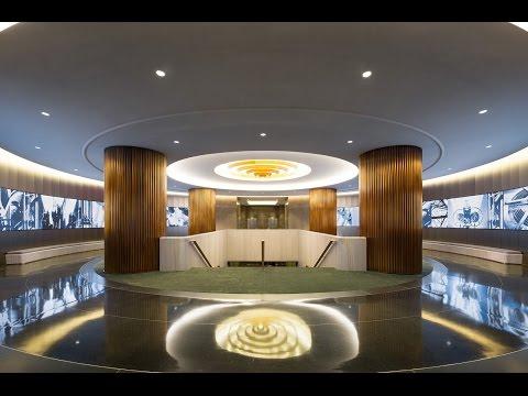 NBCUniversal Lobby, Award of Merit 2016 IALD Lighting Design Awards