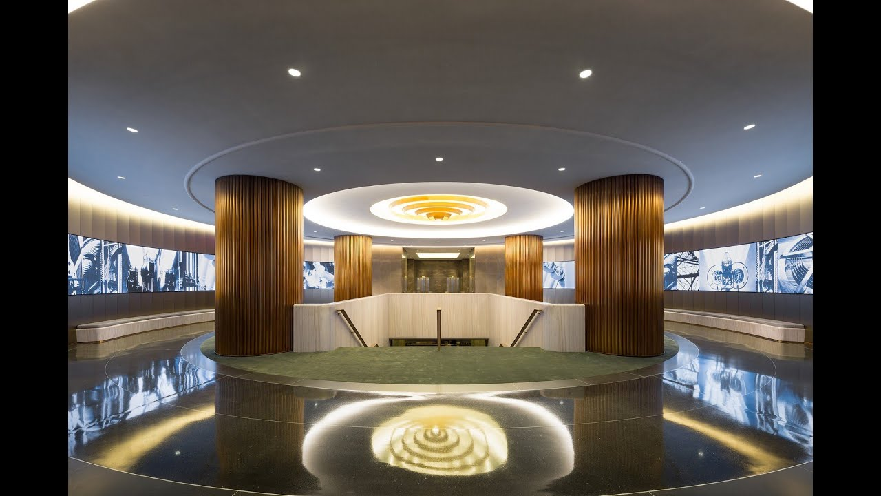 Nbcuniversal lobby award of merit 2016 iald lighting design awards