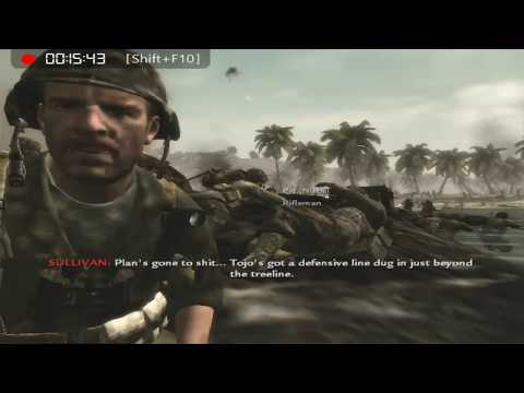 Call of Duty World at War Single player Campaign part 1