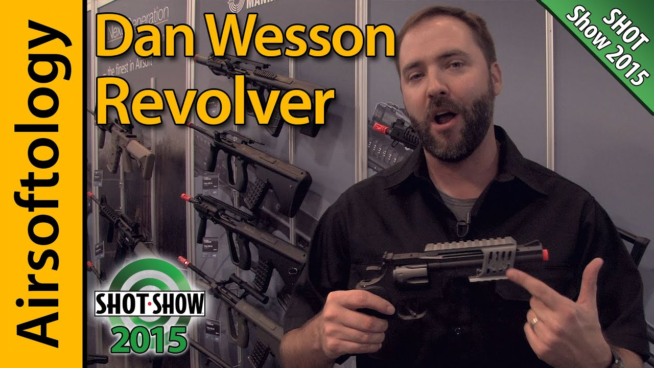 Dan Wesson Revolver w/ Hopup from ASG | SHOT Show 2015 | Airsoftology