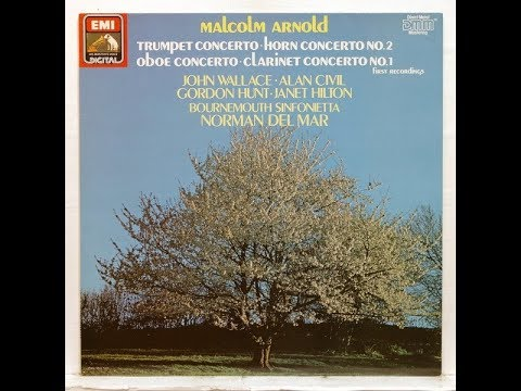 Malcolm Arnold : Concerto for oboe and string orchestra Op. 39 (1952)