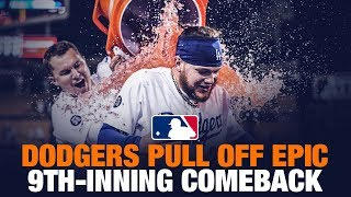 Dodgers pull off EPIC comeback!