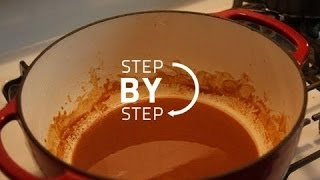 How To Make A Chocolate Roux, How To Make A Gumbo Roux, Jan Charles