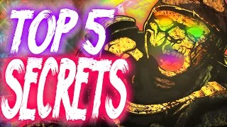 """Top 5"" ""Der Riese Secrets""/""Der Riese Fun Facts"" ""CoD Zombies"" ""Der Riese Easter Eggs""!"