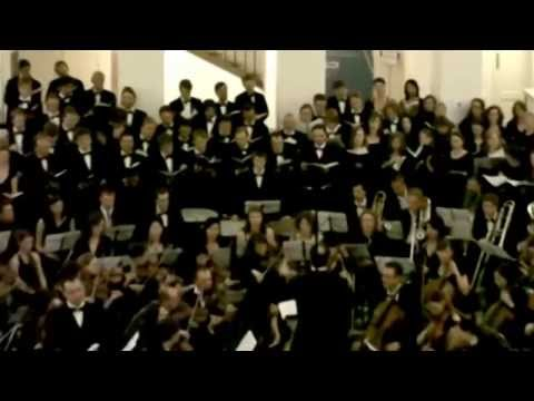 Brahms German Requiem - Cologne and Prague University students perform together
