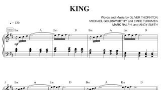 King - Years & Years [Sheet & Midi Download]