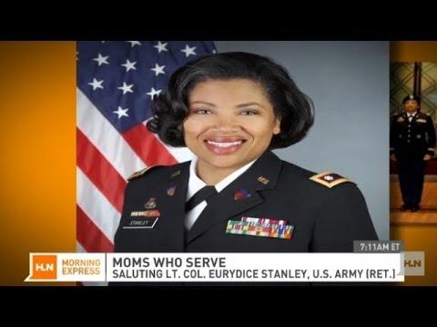 Moms who serve: Lt. Col. Eurydice Stanley