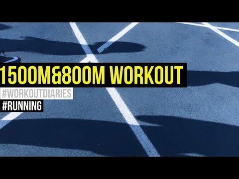 Workout Diaries | Running #3 | 1500M & 800M Workout |Coach Karan Singh